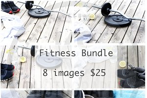 Fitness Stock Photos in a Bundle