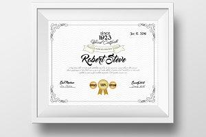 Certificate & Diploma Template