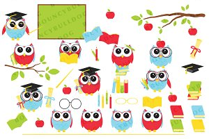 Graduation owls 2
