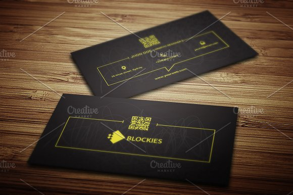Creative Business Card Template - Business Cards