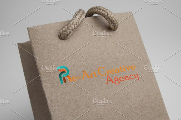 Re~Art Agency Logo Template in Logo Templates - product preview 3