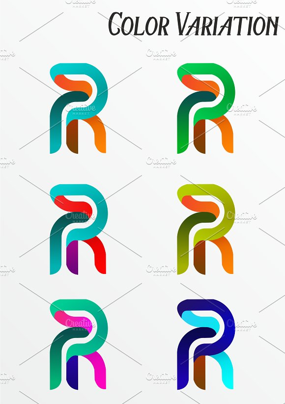 Re~Art Agency Logo Template in Logo Templates - product preview 4