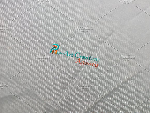 Re~Art Agency Logo Template in Logo Templates - product preview 6