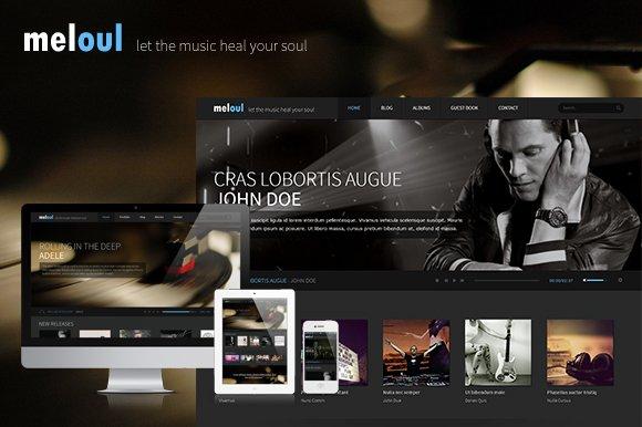 Meloul - Music WordPress Theme
