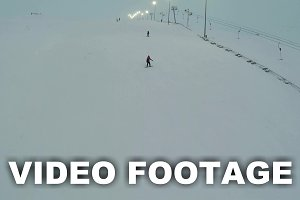 Snowboard and Ski Riders