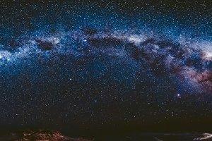 Milky Way in Antarctica