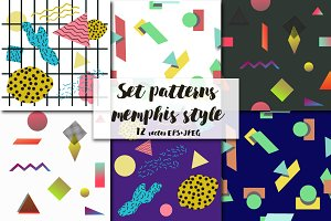 set patterns memphis style