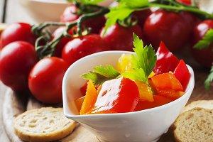 Italian sweet-sour paprika