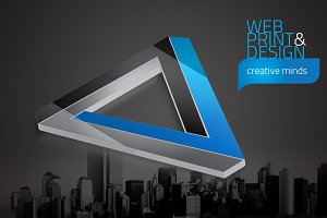 RW Creative Agency Identity + Logo