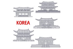 Korean five grand palaces