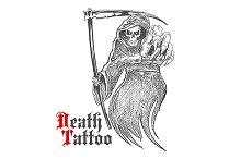 Dreadful grim reaper sketch