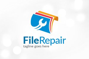 File Repair Logo Template