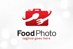 Food Photography Logo Template