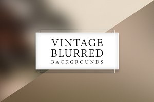 35 Vintage Blurred Backgrounds