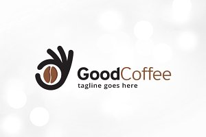 Good Coffee Logo Template