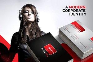 RW AudioTeq Modern Identity + Logo