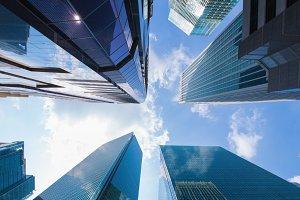Building skyscrapers business area