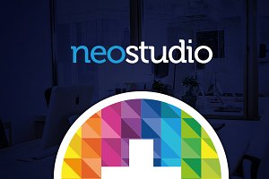 RW NeoStudio Modern Identity + Logo