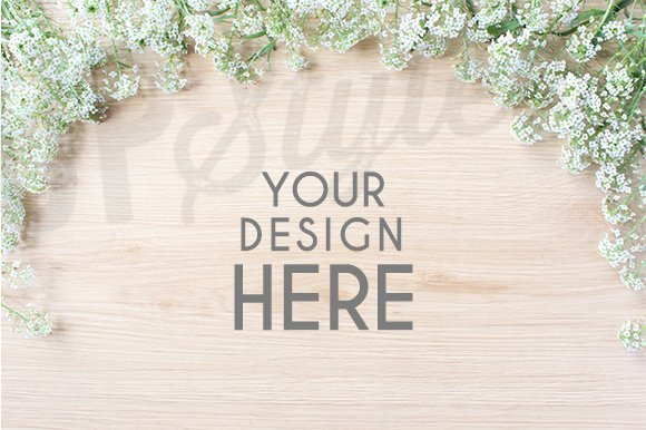 A184 Floral Stock Photo Mock Up