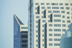 Modern high-rises