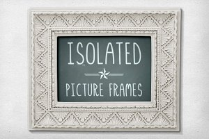 Isolated Picture Frames 2