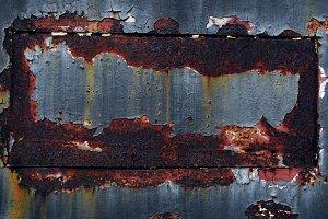 Grunge Rusty Metal Texture Surface