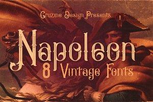 Napoleon Vintage Typeface