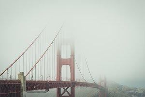 Golden Gate Bridge in the Fog 1