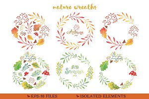Little stories - patterns & wreaths