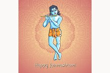 Lord Krishna. Happy Janmashtami