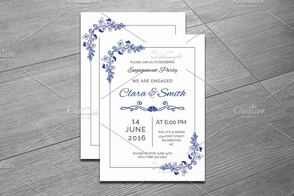 Engagement party invitation template invitation templates engagement party invitation template invitations stopboris Gallery