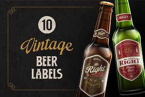 10 Vintage Beer Labels