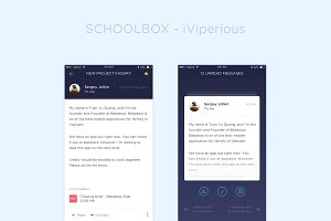SchoolBox UI Kit - Sketch