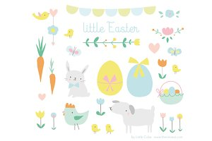 Little Easter Vector