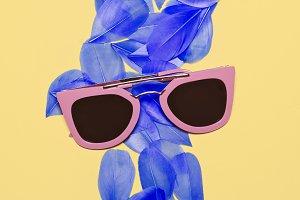Dream of summer. Minimalism fashion