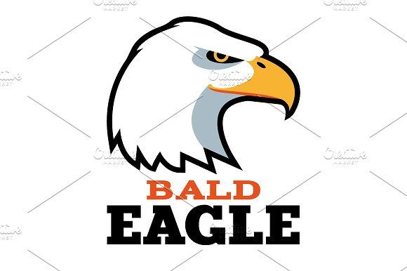 bald eagle logo template logo templates creative market