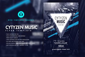 3in1 CITIZEN CITY Flyer Template