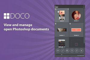 Doco Photoshop documents panel