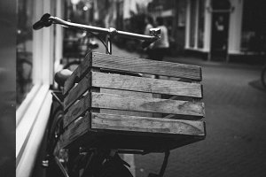Bike with a Crate