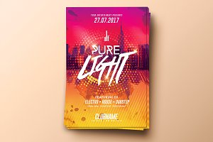 Pure Light Party | Flyer Template
