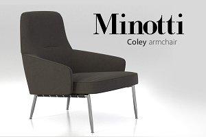 Minotti Coley Armchair