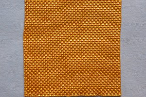 Orange Fabric sample