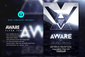 AWARE Flyer Template