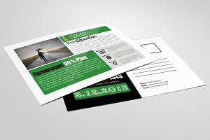 Business Solution Company PostCard