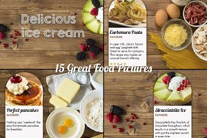 15 great food pictures