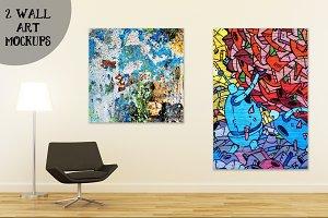 Wall art mockup V4