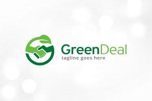 Green Deal Logo Template
