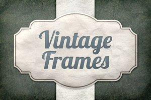 Vintage Frames Vector Pack 1
