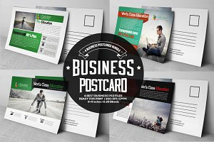4 Business PostCards Bundle