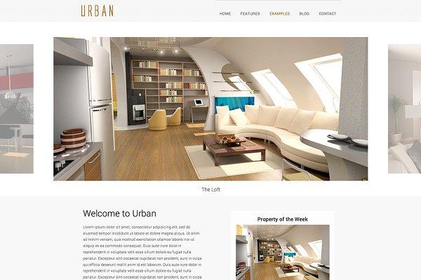 Urban - html5 template